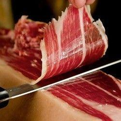Jamón Reserva loncheado a cuchillo