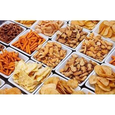 Snacks. Caja con 20 bolsas
