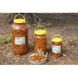 Aceitunas Sabor Berenjena 4000 gr