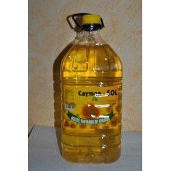 Aceite de girasol 5 L.