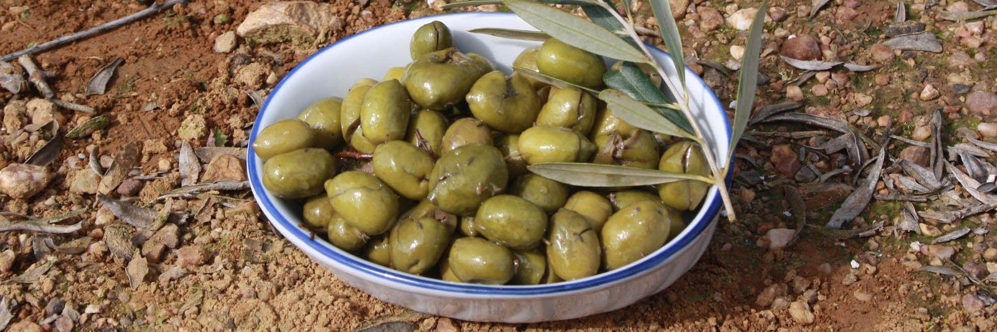 Aceitunas Machacadas